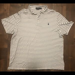 Tommy Hilfiger Polo Shirt, Blue stripped